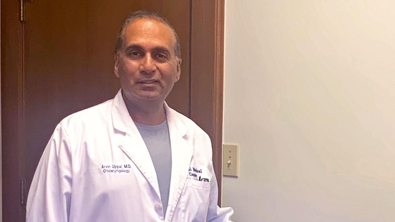 Dr. Avinder Uppal of the Uppal Medical Center