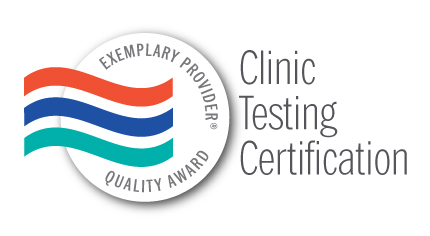 Clinic Testing Certification Award