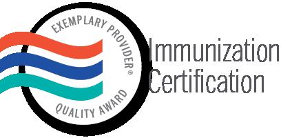 Exemplary Provider Immunization Certificate Seal