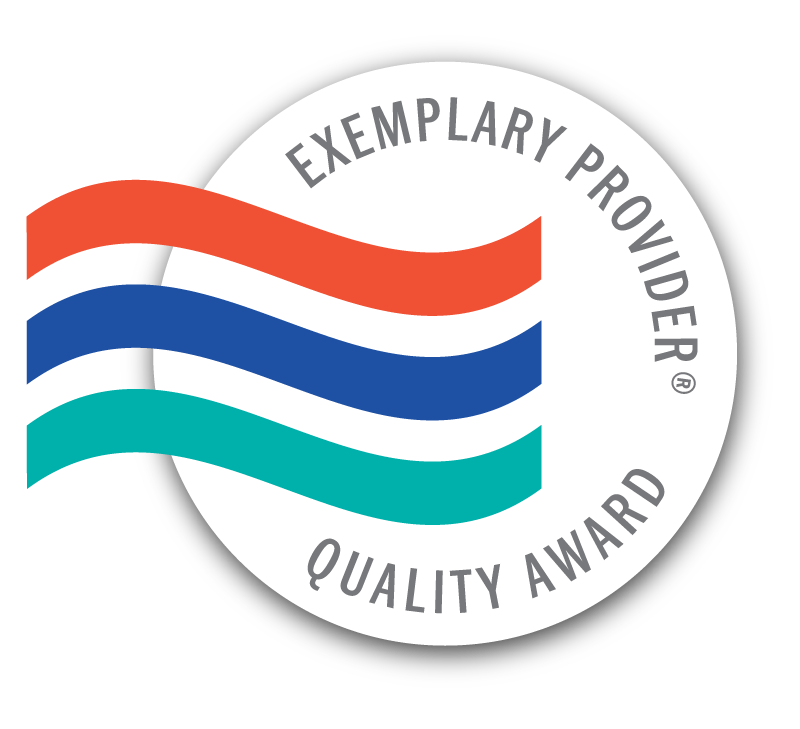 Exemplary Provider Quality Award logo